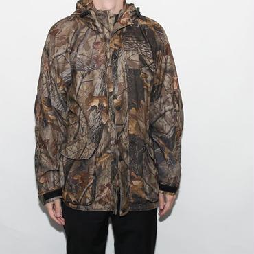 Tree Camouflage Nylon Jacket