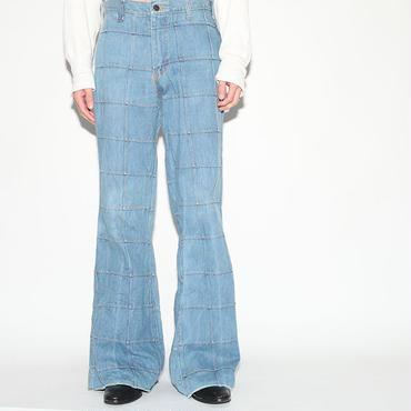 Patchwork Denim Pants