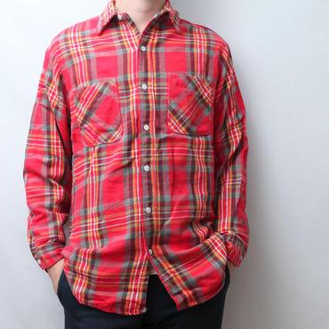 ビッグマックネルシャツ 刺繍タグ Big Mac Flannel Shirt