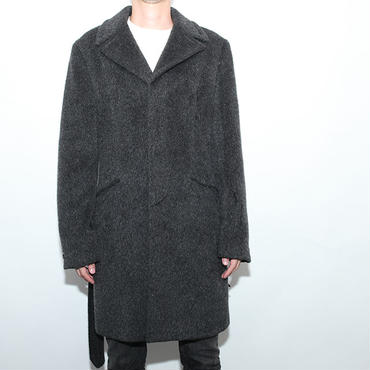 Mohair Wool Coat Made in Italy