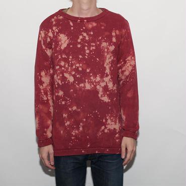 Hard Bleach Wash Cotton Sweater