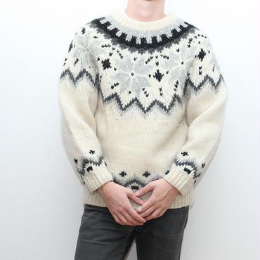 ノルディックセーター Vintage Nordic Sweater