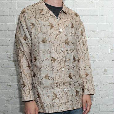 刺繍シャツ Good Stich Work L/S Shirt