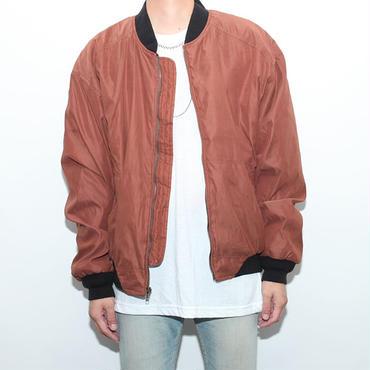ボンバージャケット Zip Up Jacket