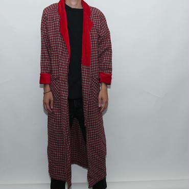 Check Long Robe