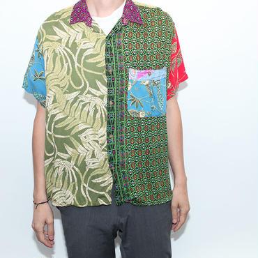 Crazy  Pattern Rayon S/S Shirt