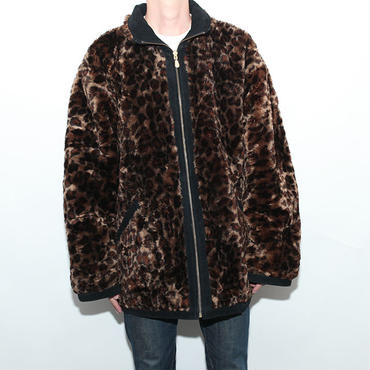 Suede×Fake Fur Reversible Jacket