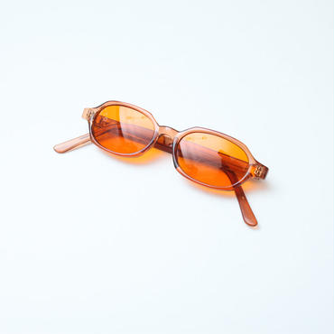 80s Sunglasses Orange Lens