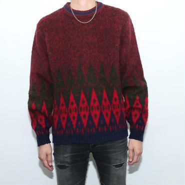 Mohair Nordic Sweater
