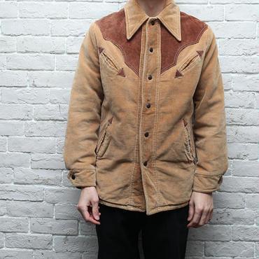 ウエスタンジャケット 太畝コーデュロイ Vintage Western Jacket Fat Corduroy