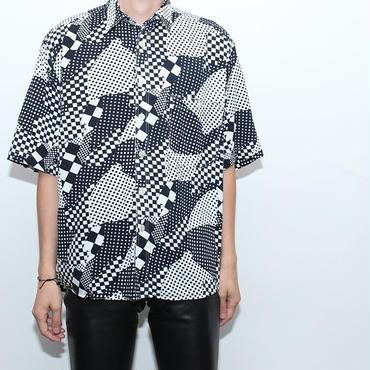 Rayon Crazy Checker  S/S Shirt