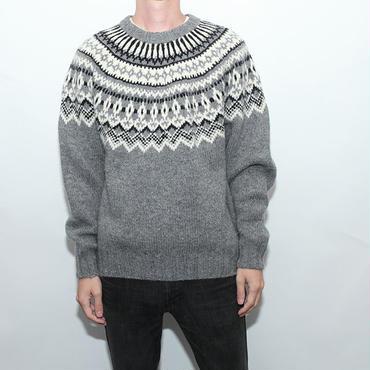 Wool Rich Nordic Sweater