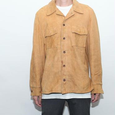 Vintage Nubuck  Leather  Jacket