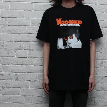 クルキッド 時計仕掛けTシャツ Krooked Skatebords T-Shirt