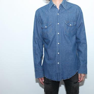 ラングラーデニムシャツ Wrangler Denim L/S Shirt