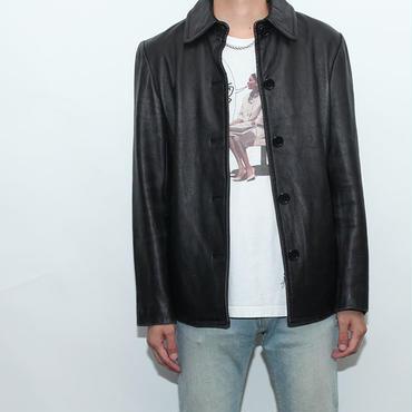 Leather Short Coat
