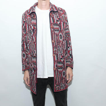Ethnic Pattern Half Coat