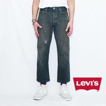 リーバイス 501 ブラック ペンキ Levis