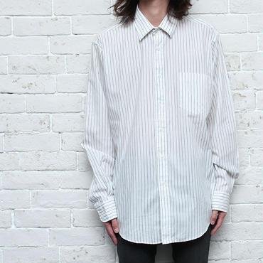 80s イヴサンローラン ドレスシャツ ストライプ Christian Dior L/S Shirt
