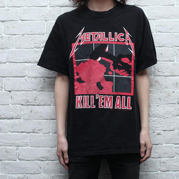 メタリカTシャツ Metallica T-Shirt Kill Em All