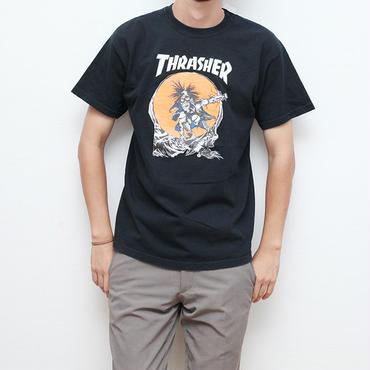 スラッシャー×パスヘッドTシャツ Thrasher Pashead T-Shirt