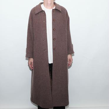 Mohair Wool Long Coat