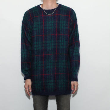 Mohair Crew Neck Sweater