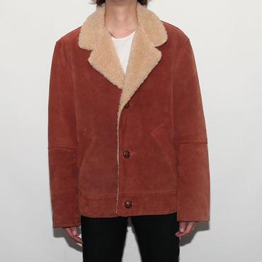 Schott Suede Boa Jacket