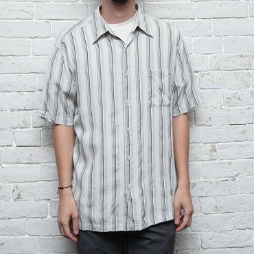 レーヨン ストライプシャツ Rayon S/S Shirt