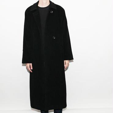Angola Wool Long Coat
