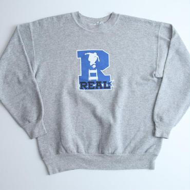 リアルスケートボード ビンテージスウェット Real Skatebords Vintage Sweat Shirt