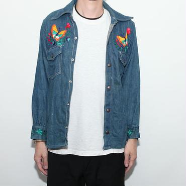 Vintage Embroidery Denim Jacket