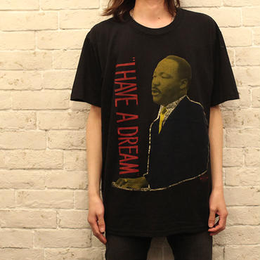 キング牧師Tシャツ Vintage Martin Luther King Jr T-Shirt