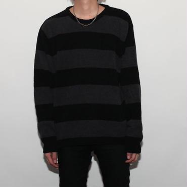 Border Knit Sweater