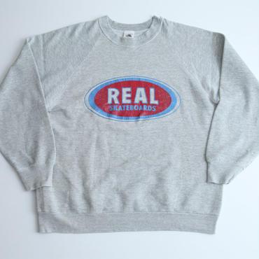 リアルスケートボード ビンテージスウェット Vintage Real Skatebords Sweat Shirt