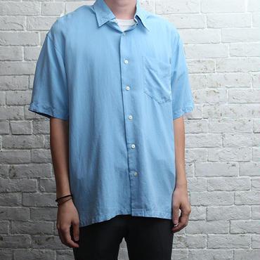 シルク 無地シャツ Silk S/S Shirt