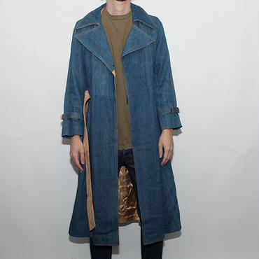 Skinny Denim Coat