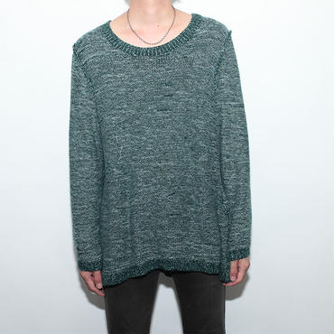 Back Side Knit Sweater