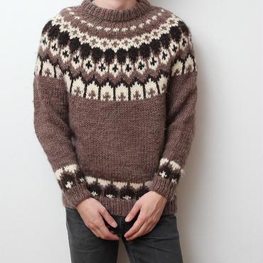 ヴィンテージ ノルディックセーター Vintage Nordic Sweater