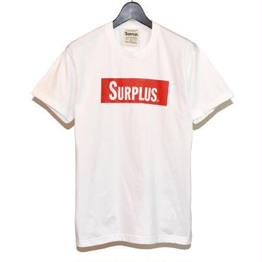 SURPLUS ハンドプリント Tシャツ(ボックスロゴ) 8653-300-10