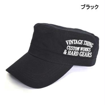 GAZELLE サイド刺繍入り ベーシック ワークキャップ 8682-481-41