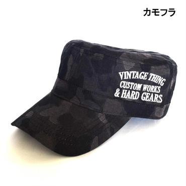 GAZELLE サイド刺繍入り ベーシック ワークキャップ 8682-481-F41