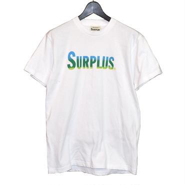SURPLUS ハンドプリント Tシャツ(タテロゴ) 8653-301-10