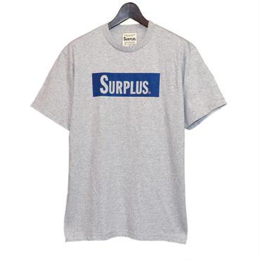 SURPLUS ハンドプリント Tシャツ(ボックスロゴ) 8653-300-21
