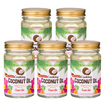 クッキングココナッツオイル 5個セット