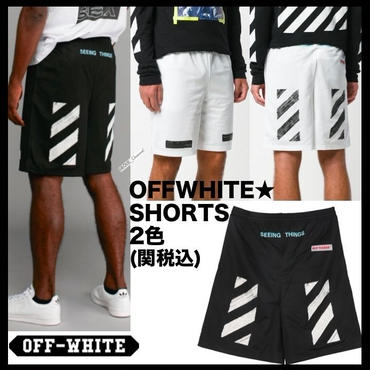 ★Off-White DIAG Brushed MESH Shorts 2色