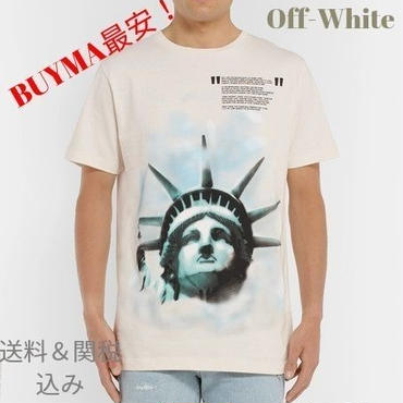☆OFF-WHITE☆ 新作モデル The Statue of Liberty Tシャツ