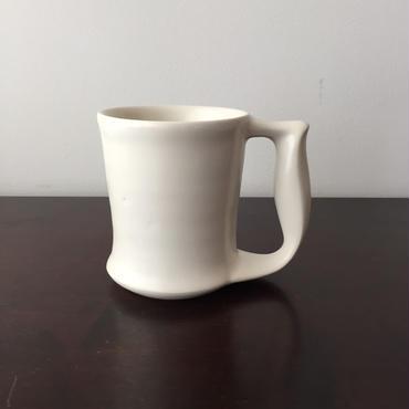 八重山陶磁 保温マグカップ(磁器)/宮良断(アンパル陶房)