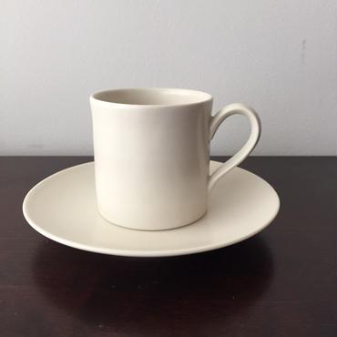 八重山陶磁 コーヒーカップ&ソーサー(磁器)/宮良断(アンパル陶房)