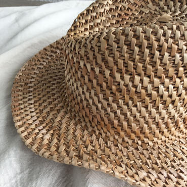 月桃編み帽子